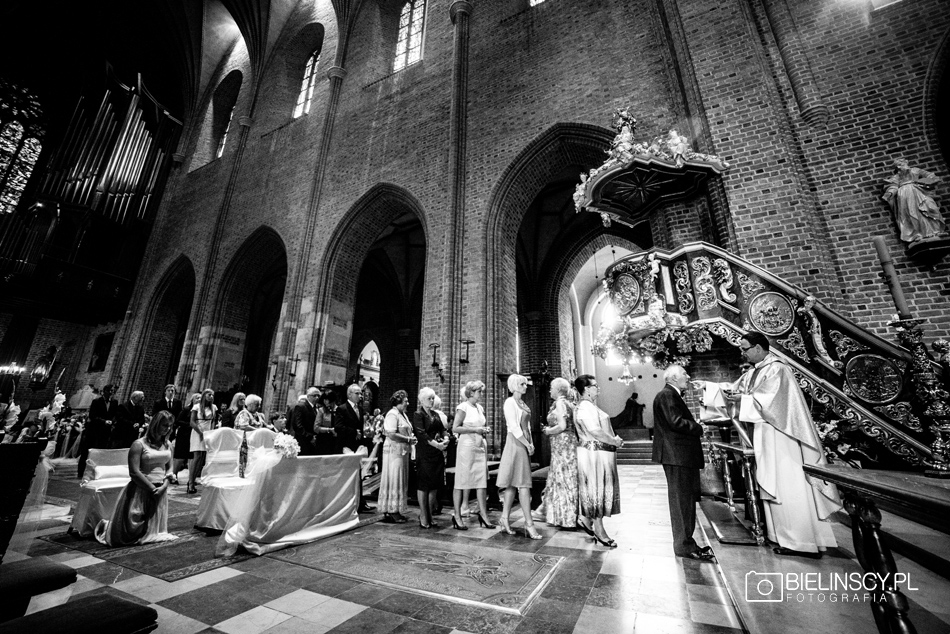 ślub poznańska katedra