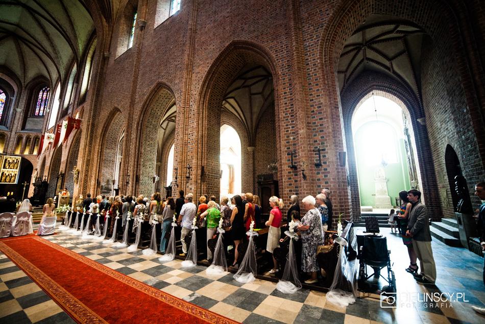 ślub poznańska katedra Ostrów Tumski